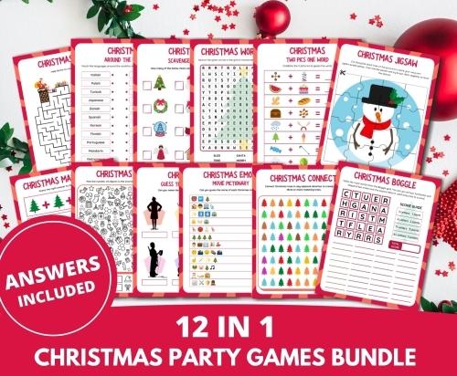 Christmas Party Games Bundle