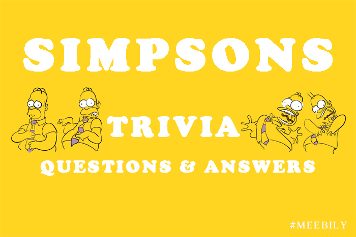 simpsons trivia question and answers copy