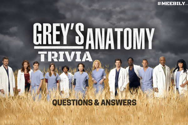 Grey's Anatomy Trivia Questions & Answers
