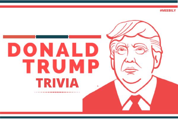 Donald Trump Trivia Questions & Answers Quiz Game