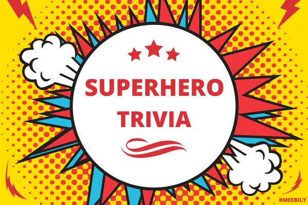 Superhero Trivia Questions & Answers Quiz Game