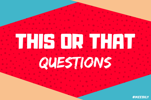 This or that questions game