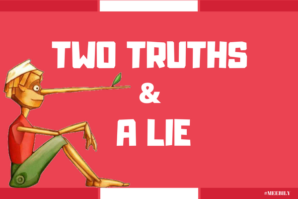 Two Truths and a Lie Game Ideas