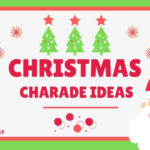 Christmas Charades Word Ideas