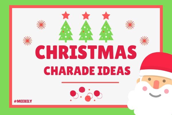 Christmas Charades.170 Christmas Charades Word Game Ideas Meebily