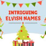 Intriguing Elvish Names