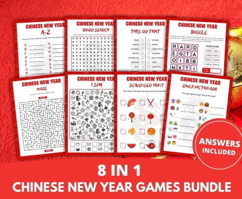 Chinese New Year Games Bundle