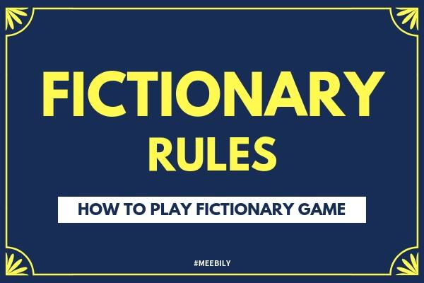 Fictionary Rules: How to Play Fictionary Game