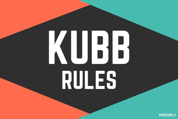 Kubb Rules How to Play Kubb Game